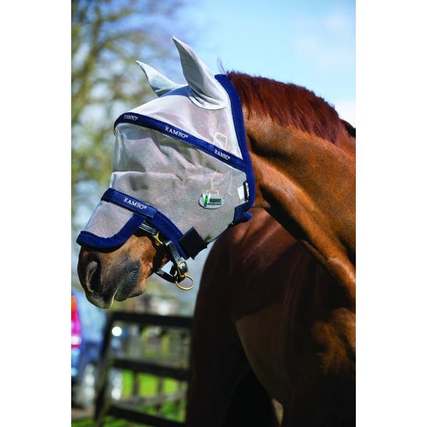 Horseware Fliegenmaske Rambo Plus VAMOOSE