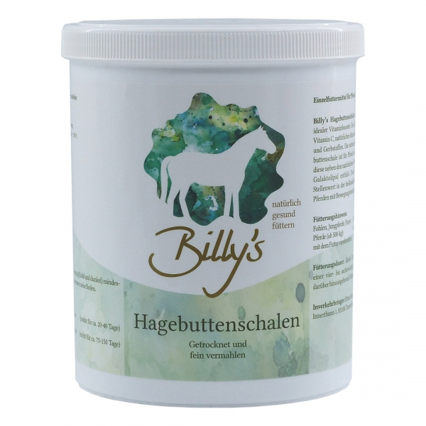 Nautral Horse Care Billy´s Hagebuttenschalen Pulver