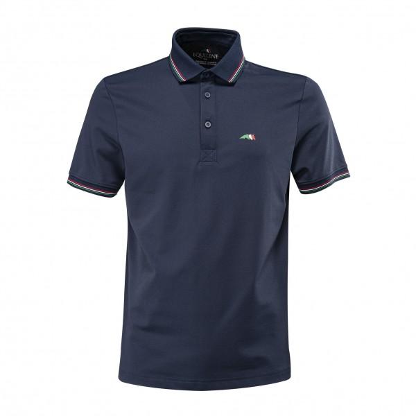 Equiline Herren Pique-Poloshirt CREUSETT TeamCol.20
