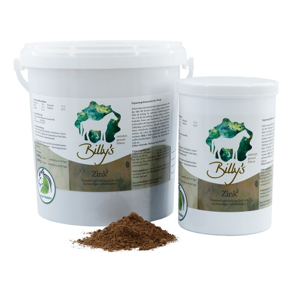 Natural Horse Care Billy´s ZINK 1 kg