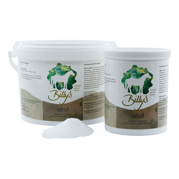 Natural Horse Care Billy´s MSM
