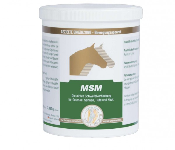Vetripharm Monopräparat MSM