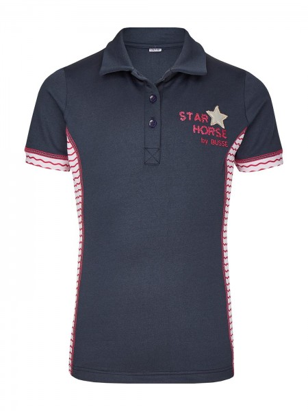 Busse Kinder Polo-Shirt STAR HORSE