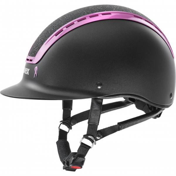 Uvex Reithelm SUXXEED PINK RIBBON