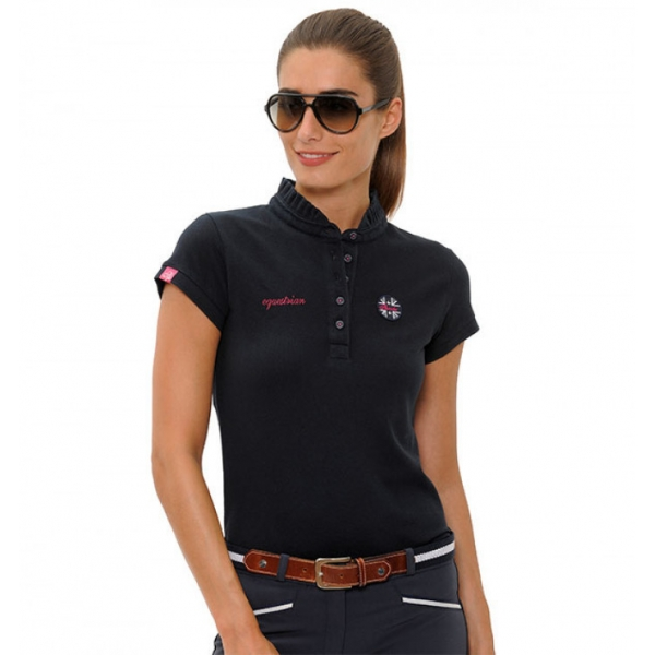 Spooks Damen Polo Shirt VIOLA