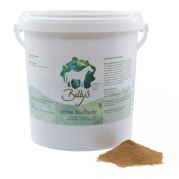 Natural Horse Care Billy´s reine Bierhefe 3kg