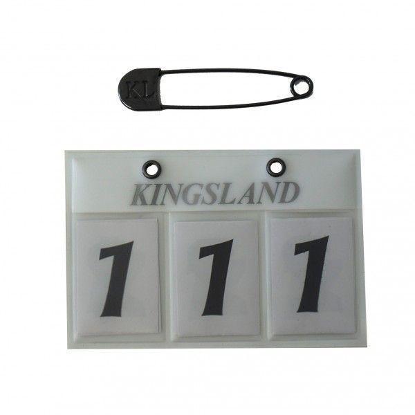 Kingsland Startnummer CLASSIC 3stellig